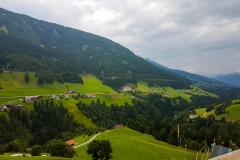 Blick in ein Tal