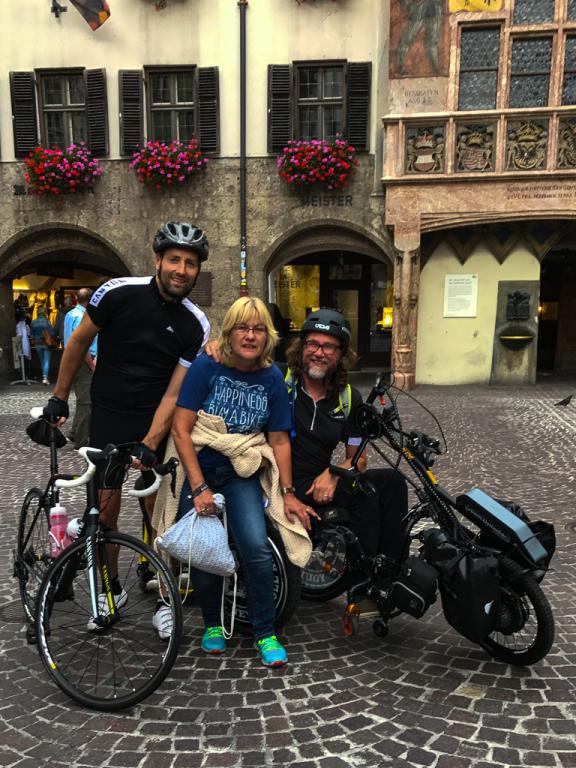 Das Team in Innsbruck