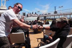 Bier vor vier! Egal, ist Cruise!