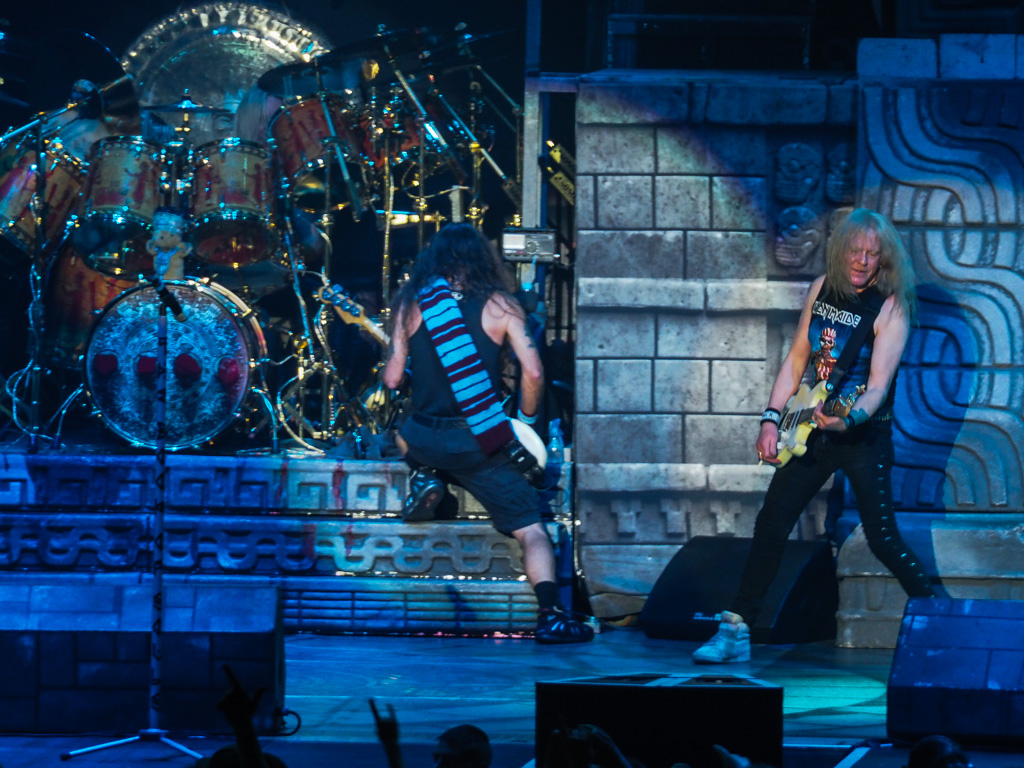 Iron Maiden 2017 Arena