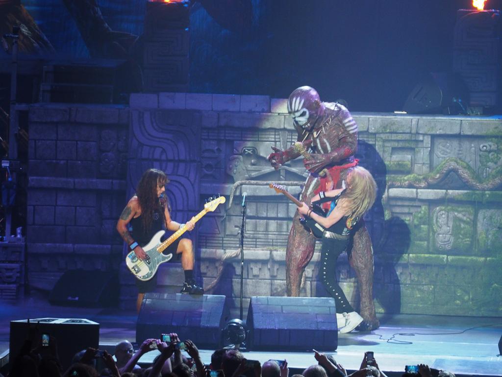 Iron Maiden 2017 Arena