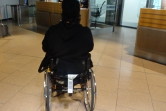 Rollstuhl mit DAA