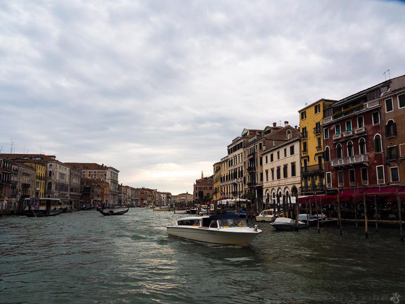 Canale Grande vom Schiff aus.
