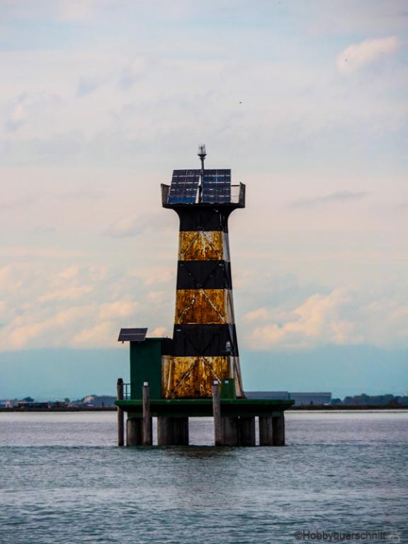 Rostiger Leuchtturm