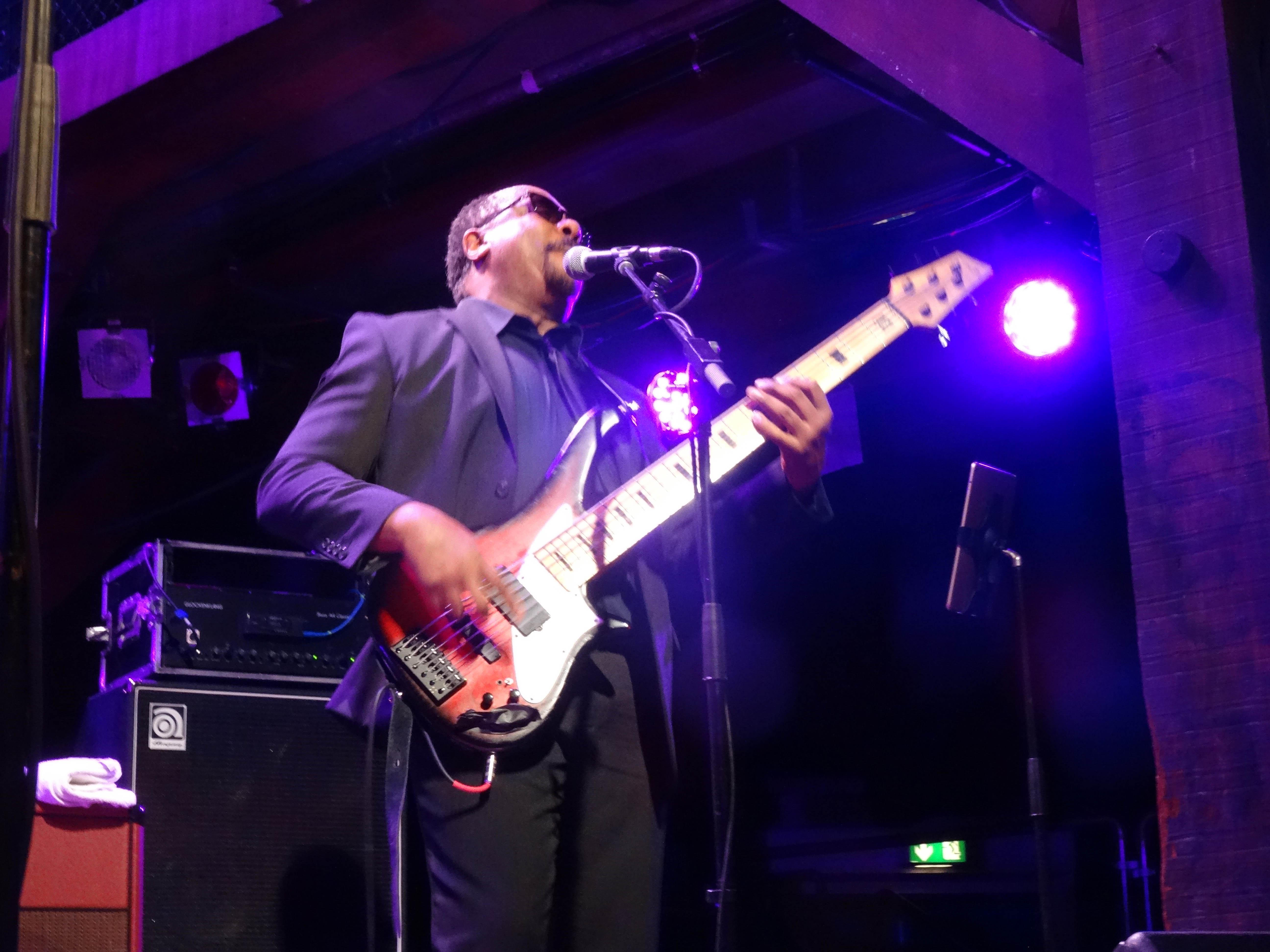 Bassist Reggie Worthy
