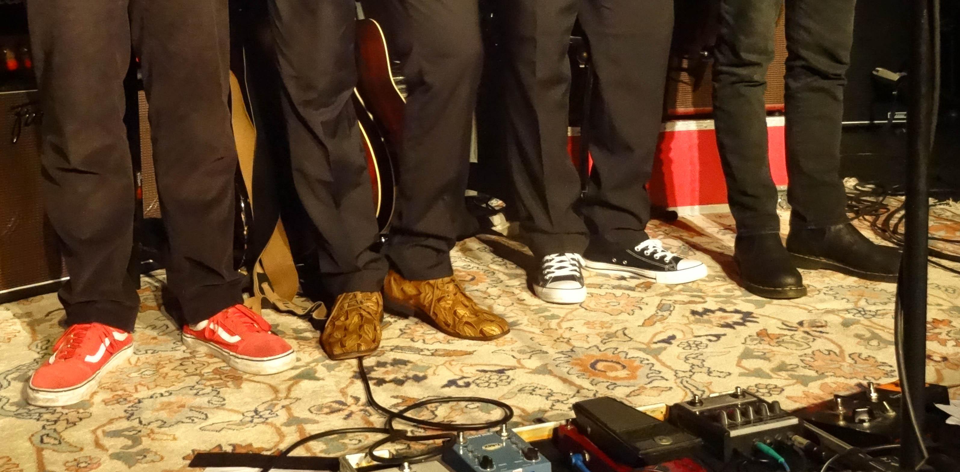 Die Schuhe der Musiker