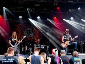GrimGod on Stage