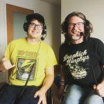 David und Björn beim Podcasten
