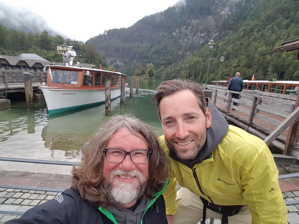 Daniel und ich am Königssee