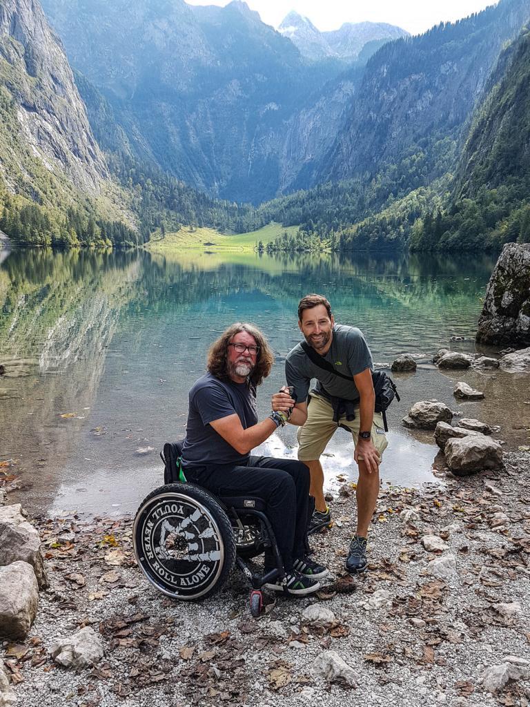 Daniel und ich am Obersee